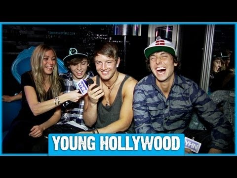 Emblem3 at The Roxy Part 2: Surprising a Fan With a Phone Call!