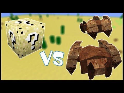 Песчаный Лаки Блок VS Жуки-Горгомиты! (50+) - Лаки Битва #4