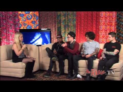 Fall Out Boy Backstage Interview May 14, 2013