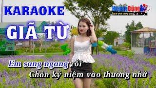 Giã Từ Karaoke Nhạc Sống Rumba - Hoàng Dũng Karaoke