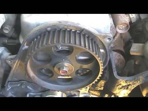 How to install a timing belt