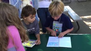 Holden reads is persuasive writing book, first grade