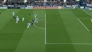 Real Madrid vs leganes but de Lucas vasquez