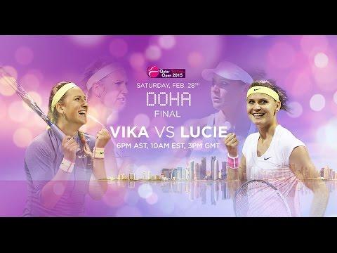 2015 Doha Final Preview | Victoria Azarenka vs Lucie Safarova