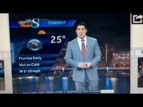 CBS This Morning local weather from different stations February 5, 2016 8:36am