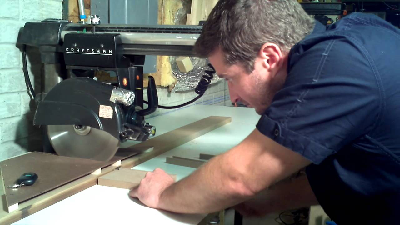 Dust Shroud For Radial Arm Saw Youtube