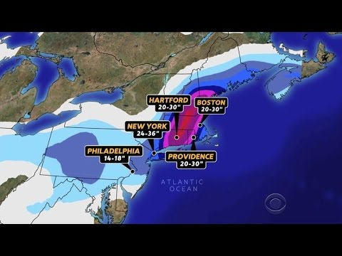 Northeast prepares for severe winter storm
