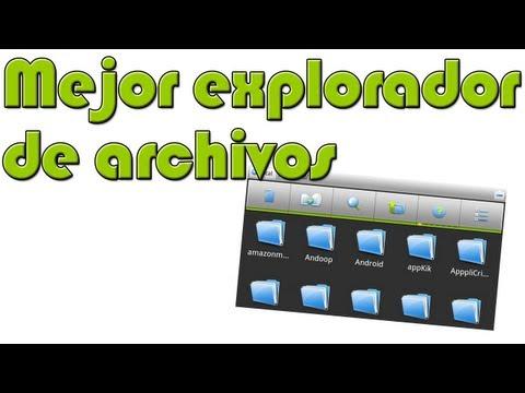 El mejor explorador de archivos para Android - App imprescindible