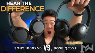 Sony 1000XM3 vs Bose QC35 II - ONE YEAR Long Term Comparison Review - Noise Cancelling COMFORT KING?