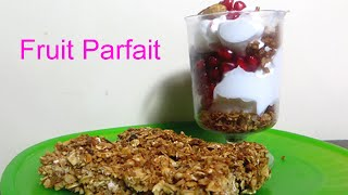 Homemade Fruit Parfait | How To Make Healthy Desserts With Kids