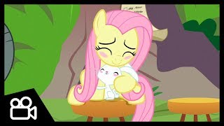 ▷Clip | Fluttershy and Angel Sympathize with Each Other (She Talks to Angel) | MLP: FiM (S9) [HD]