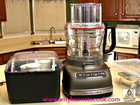 Amy's Food Processor Showdown: KitchenAid, Cuisinart, Breville & Black & Decker