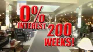200 Weeks 0% Financing