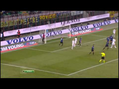 Stagione 2011/2012 - Inter vs. Lazio (2:1) Highlights