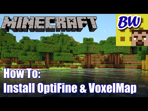 Minecraft How To: Install OptiFine and VoxelMap 1.7.10