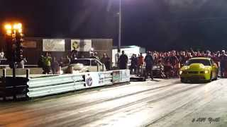 Street Outlaws Chuck Seitsinger VS BoostedGT after Redemption at the Dale  May 2014