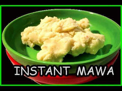Instant milk powder mawa or Khoya | How to make  mawa at home in hindi by mangal
