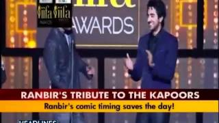 Download video Ranbir mimics cousin Kareena at IIFA