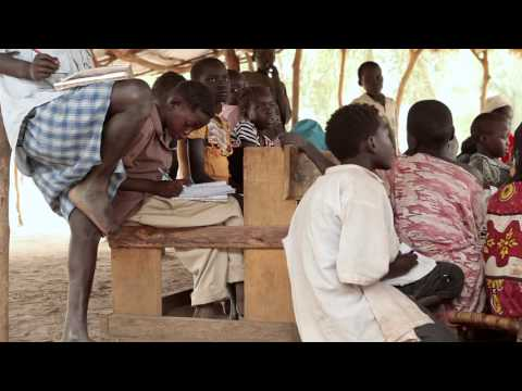 South Sudan: Save the Children's Education and Child Protection Work in Doro Refugee Camp
