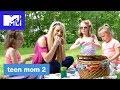 'Leah's Little Picnic w/ the Twins' Official Sneak Peek | Teen Mom 2 (Season 8) | MTV