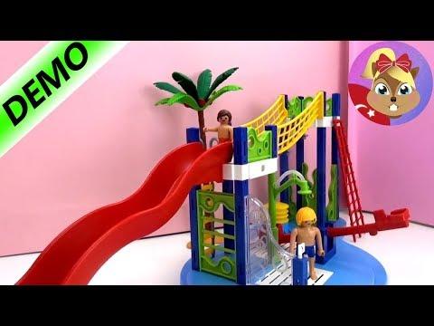 Playmobil Su oyun alanı Seti Summer Fun 6670 - Playmobil yüzme havuzu oyuncak