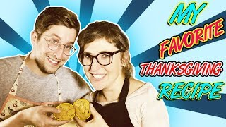My Favorite Thanksgiving Recipe || Mayim Bialik