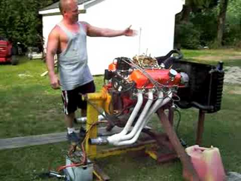 Chevy Big Block Engine Starting