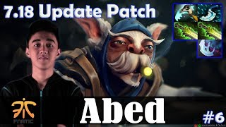 Abed - Meepo MID | 7.18 Update Patch | Dota 2 Pro MMR Gameplay #6