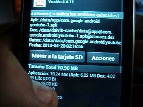 Mover Apps A La Memoria Externa En Lg L3 | How To Make & Do Everything