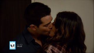 Christopher Heather Kissing 3x10 On Dallas 8 25 14