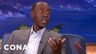 Don Cheadle Didn't Find A Lot Of Black People In Ireland - CONAN on TBS