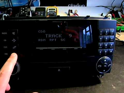 MERCEDES ALPINE MF2540 CAR RADIO REPAIR (Premier Audio UK)