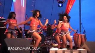 2010 Haitian Inpendence Festival Girls Dancing Waka Waka