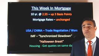 "April 15, 2019 - ""Mortgage Minute"" - TWIM - Weekly Rate Update & ""The Global Economy"""