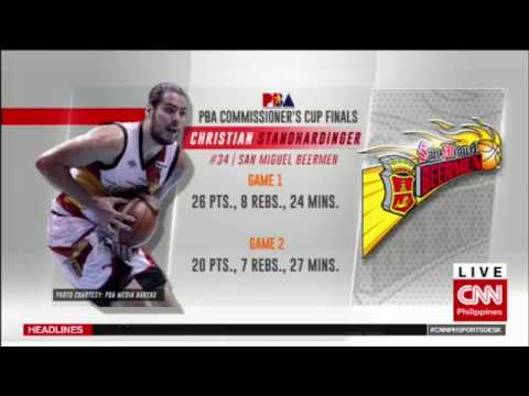 San Miguel takes Game 2 to pull even with Ginebra