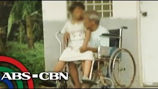 Sick father, special child survive by begging on streets