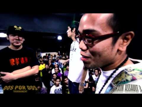 FlipTop - Juan Lazy/Harlem vs Nico/Kamandag @ Dos Por Dos Tournament