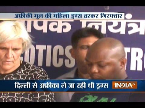 Delhi Police Arrests African National Drug Smuggler from IGI Airport