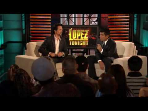 Lopez Tonight Benjamin Bratt (4132010) Video
