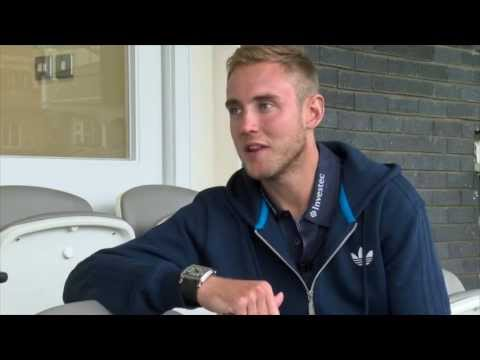 Notts and England cricketer Stuart Broad answers your Twitter questions