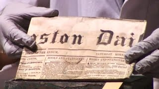 First look inside Boston time capsule from 1795