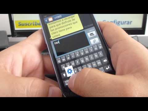 como configurar teclado del samsung Galaxy s3 mini i8190 español Full HD
