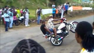 Mad bike show in Jamaica