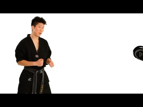 Taekwondo  Feinting Drills: Running Step Technique | Taekwondo Training Image 1