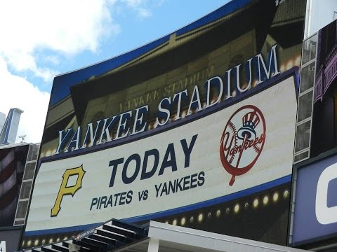 New York Yankees vs Pittsburgh Pirates Starting Lineups 5/18/2014