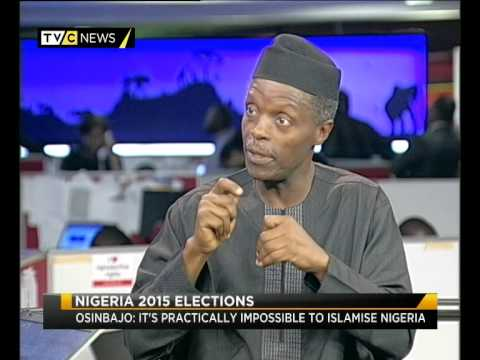 Exclusive Interview with Nigeria's APC VP candidate Yemi Osinbajo | TVC News