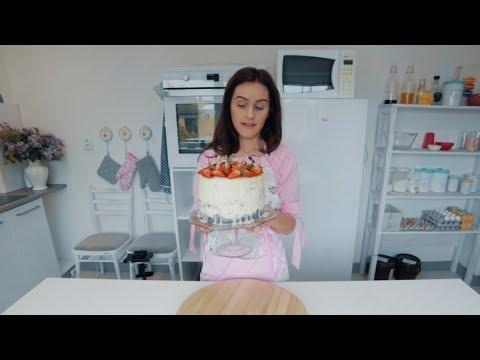 Kachna´s bakery - 001 - Jahodová torta s mascarpone krémom thumbnail