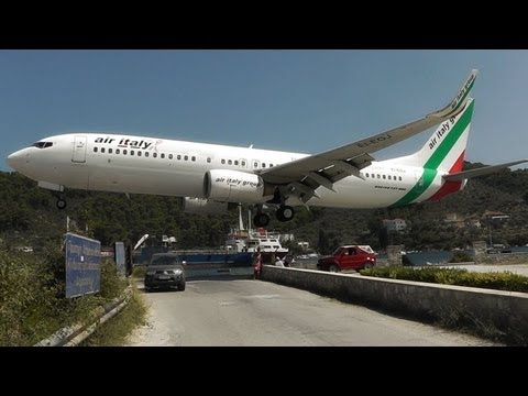 Skiathos, the Second St Maarten! Low Landings and Jetblasts - A Plane Spotting Movie