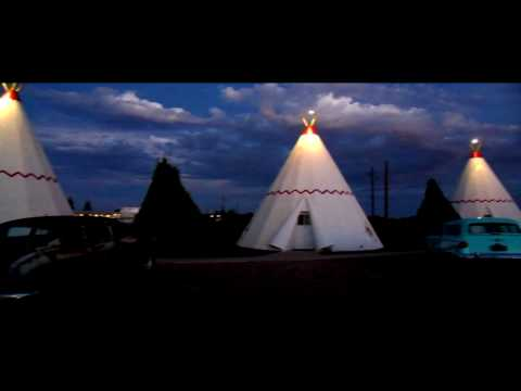 route 66 wigwam and blue swallow motels Video