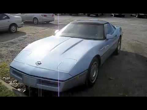 1985 Chevrolet Corvette Start Up, Exhaust, and Full Tour
